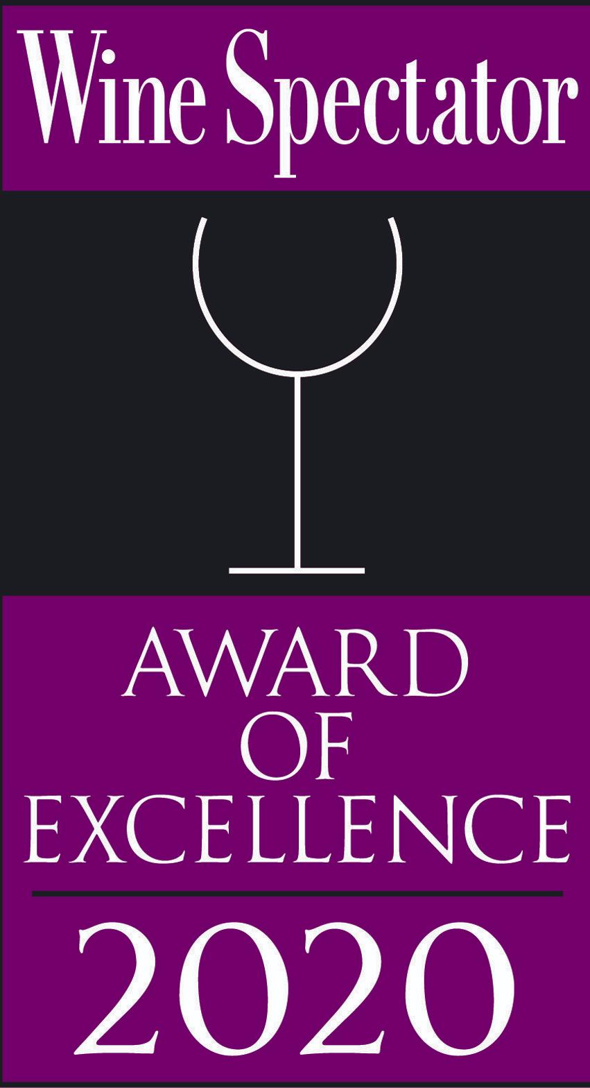 Twenty Eight Wine Spectator Award 2020